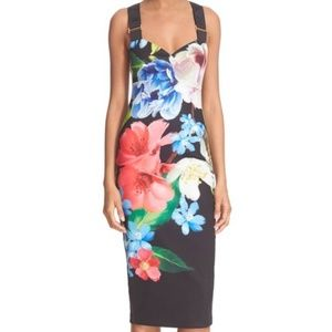 Make Offer Ted Baker Alexie Buckle Bodycon Dress